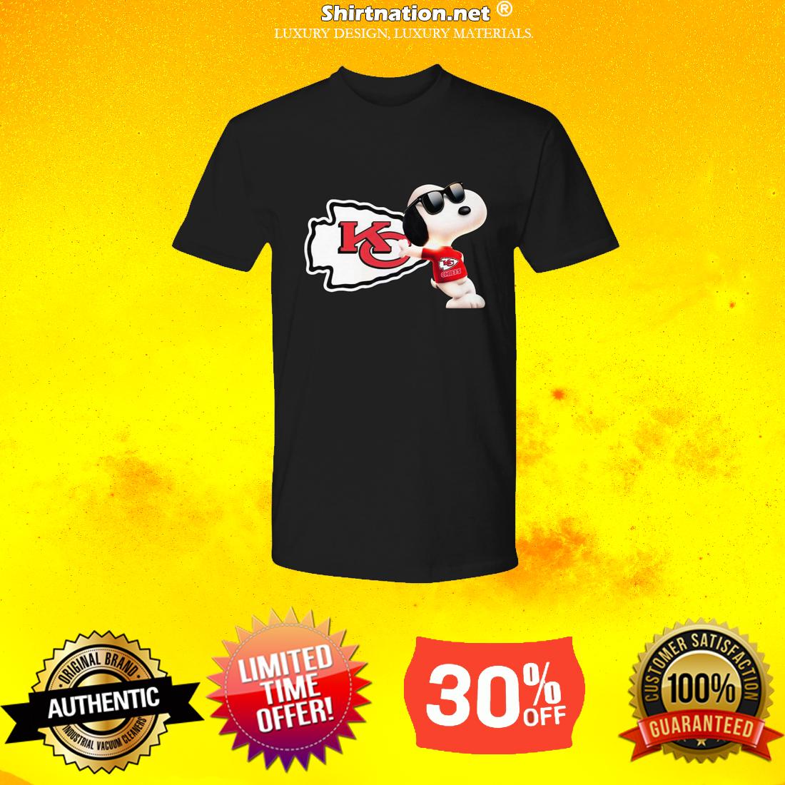 Snoopy Kansas Chiefs premium shirt