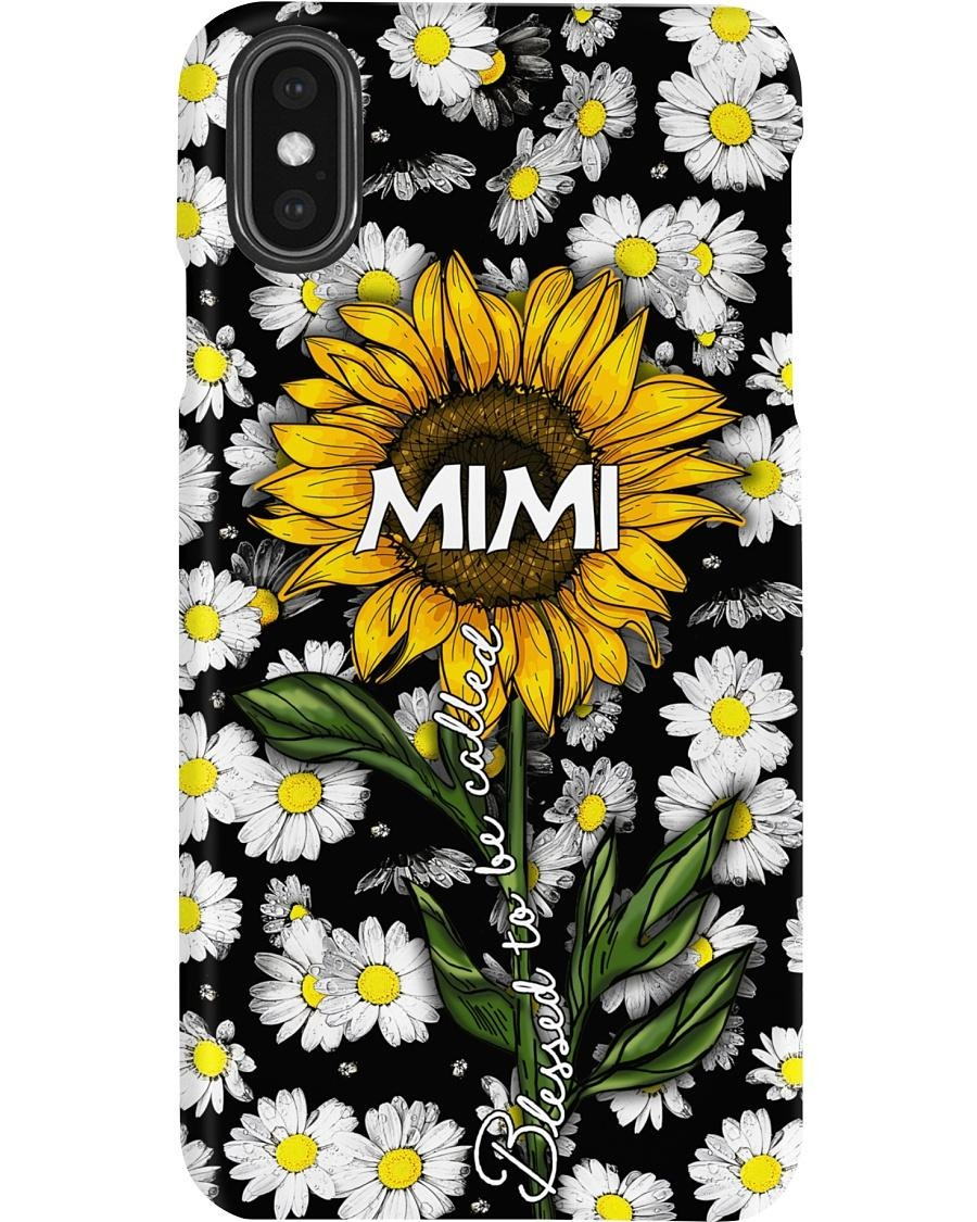 Sunflower Blessed to be called mimi phone cases