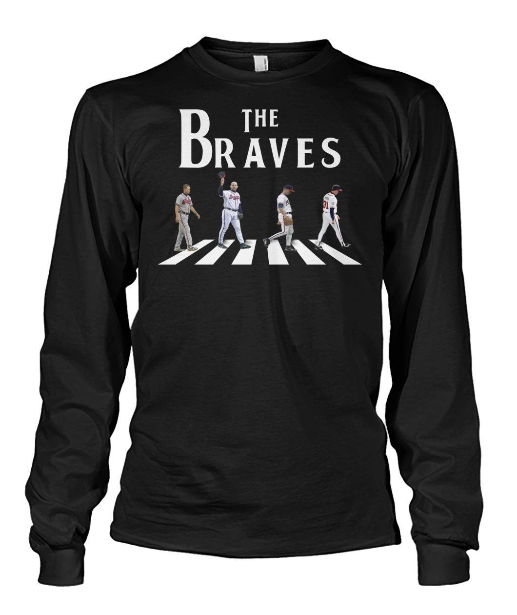 The braves abbey road long sleeved shirt