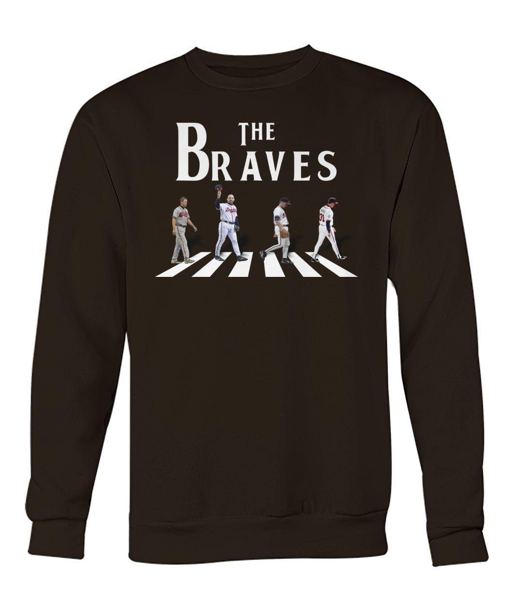 The braves abbey road sweatshirt