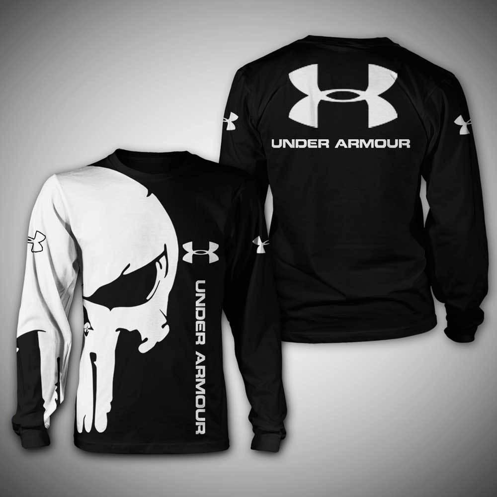 Under Armour skull full print 3D sweatshirt