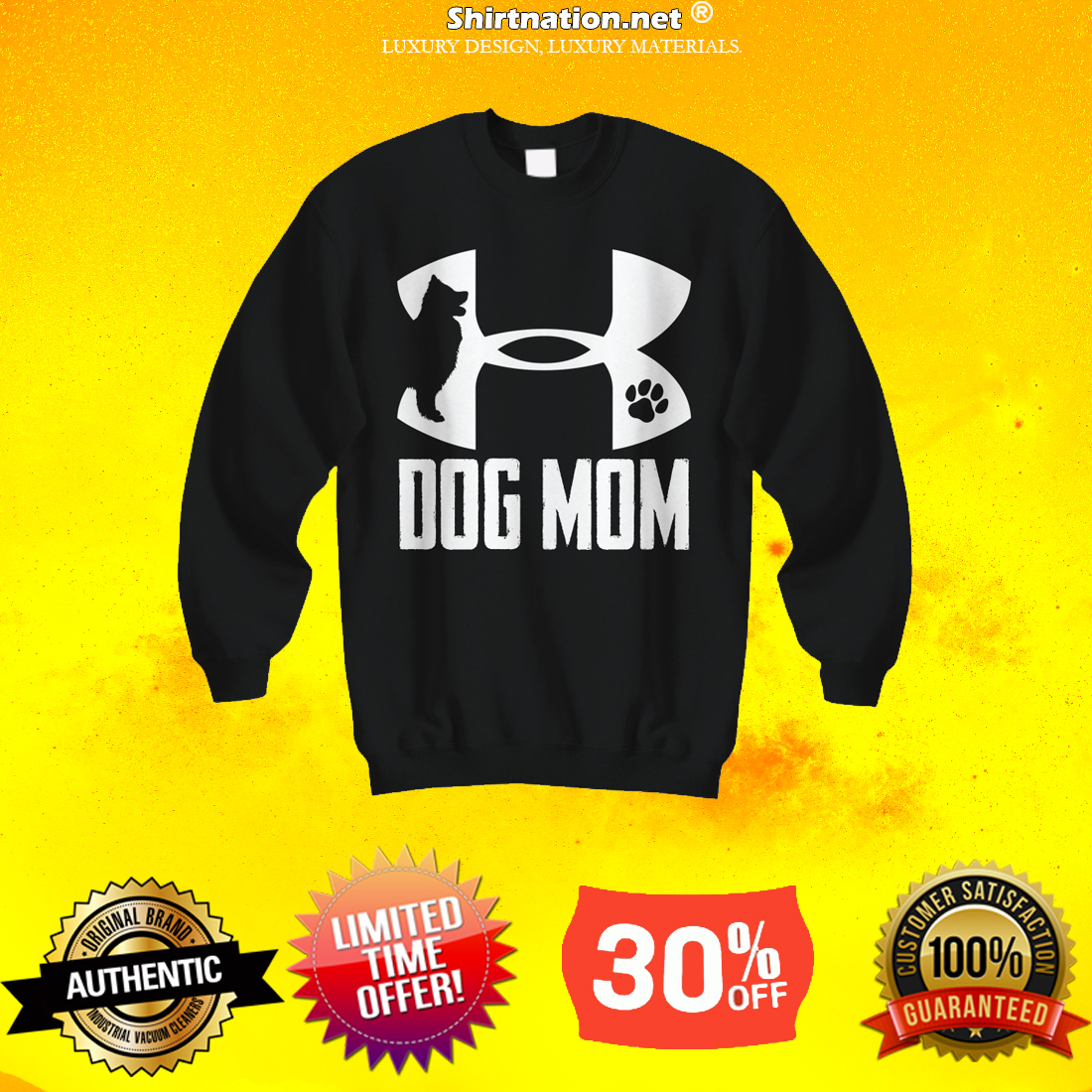 Under armour dog mom t sweatshirt