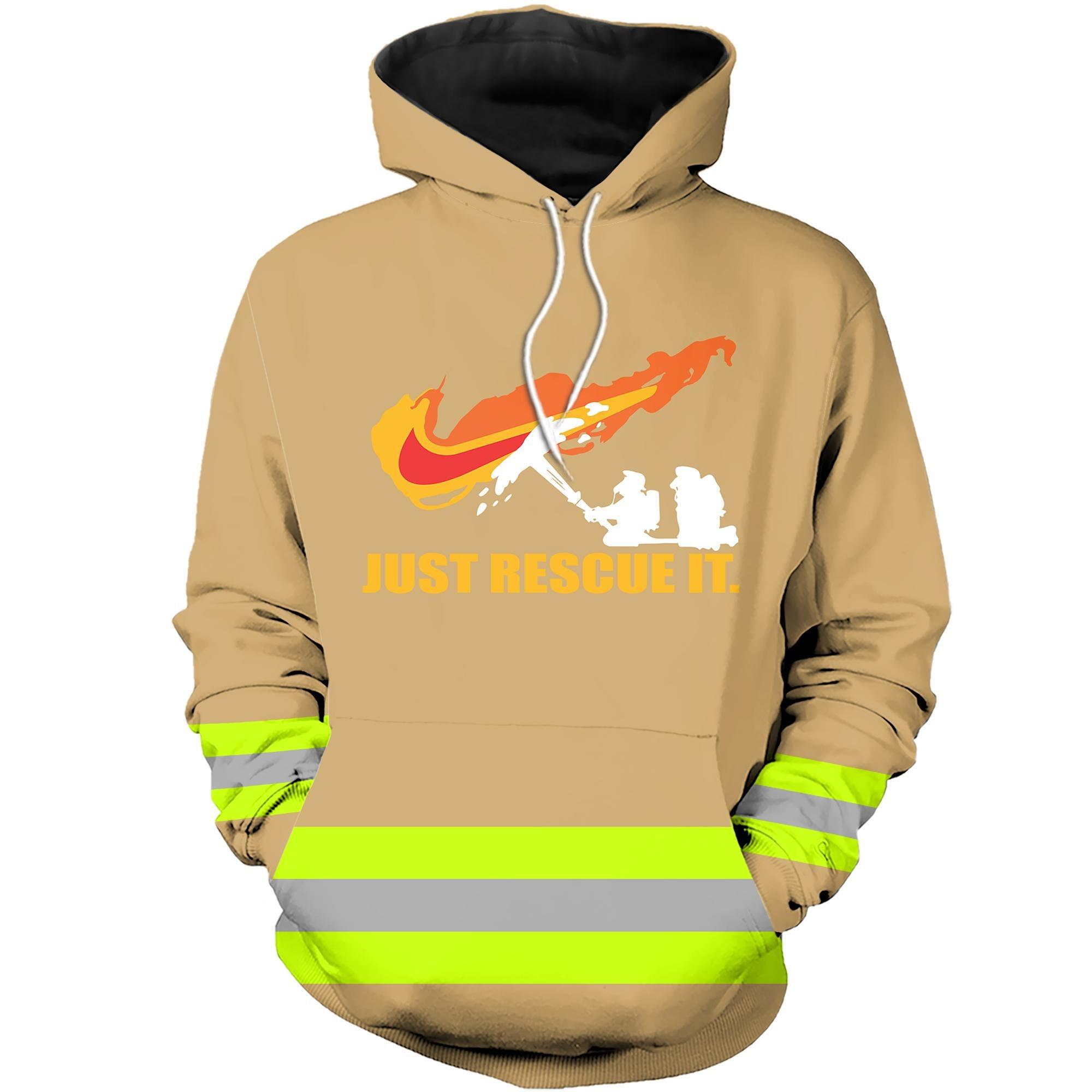 Under armour firefighter 3D hot hoodie