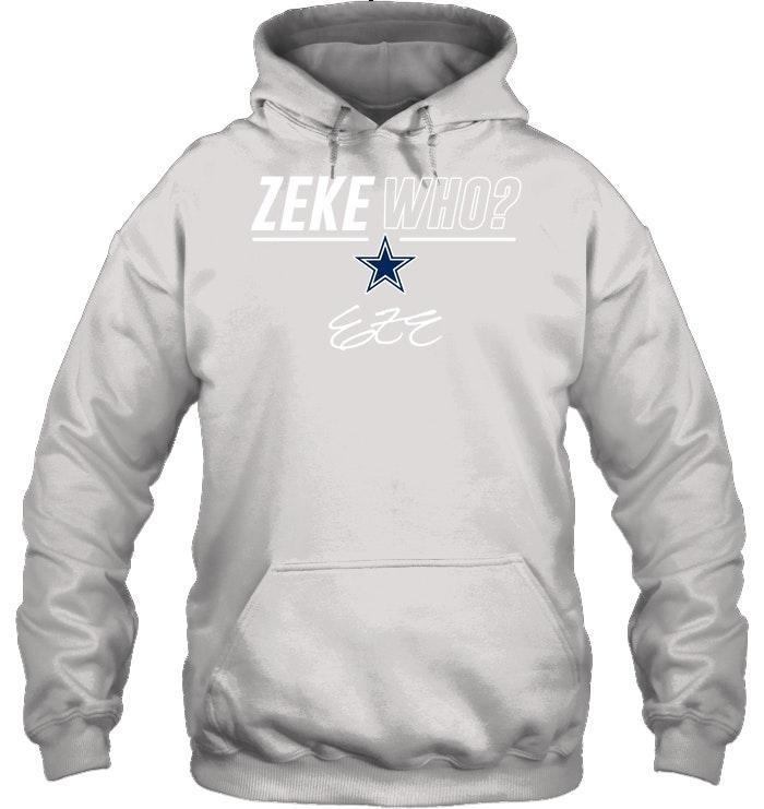Zeke who Dallas Cowboys shirt and hoodie