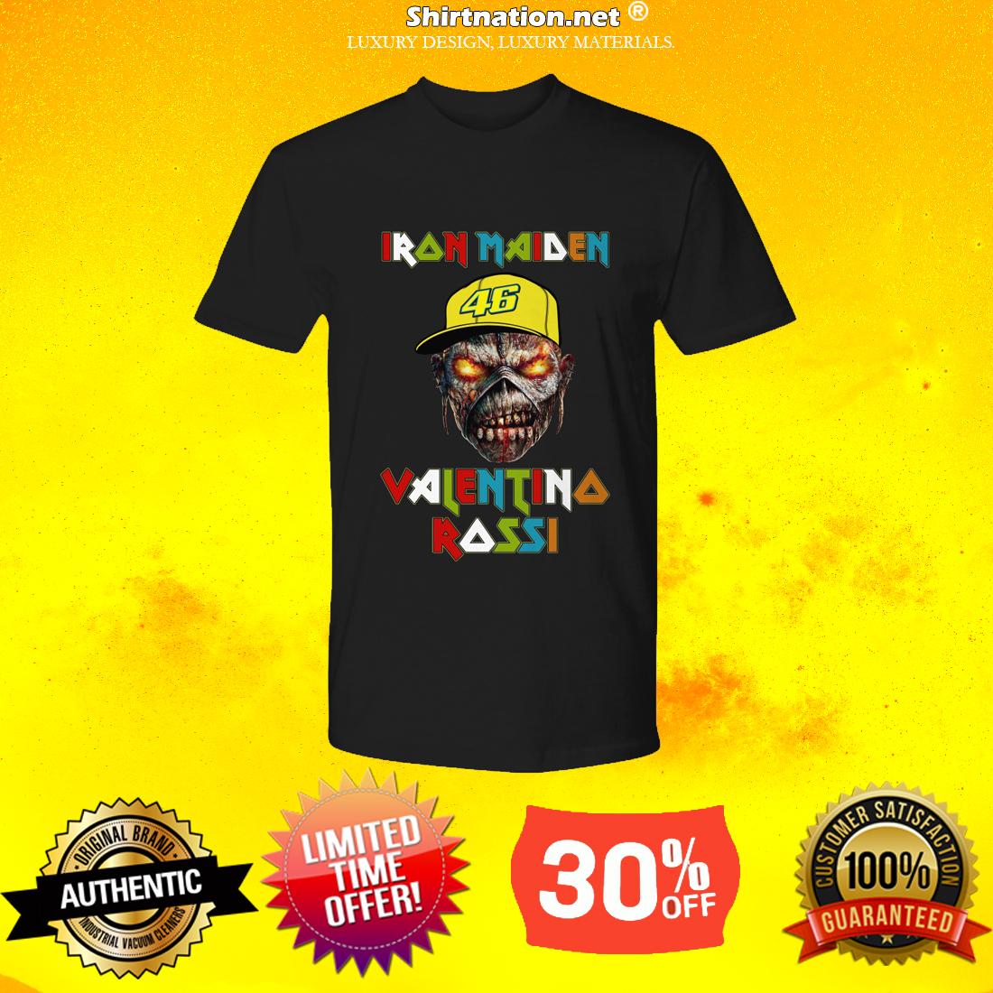 Iron Maiden Valentino Rossi premium shirt
