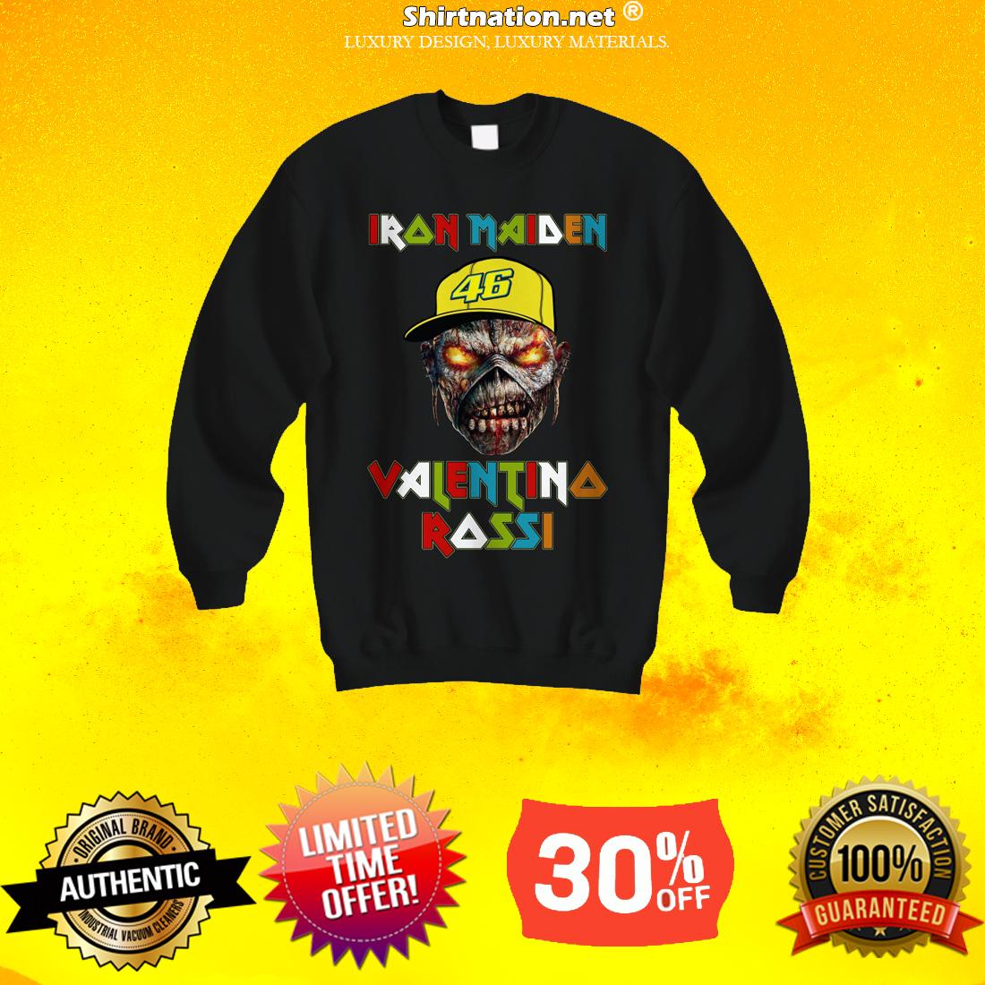 Iron Maiden Valentino Rossi sweatshirt