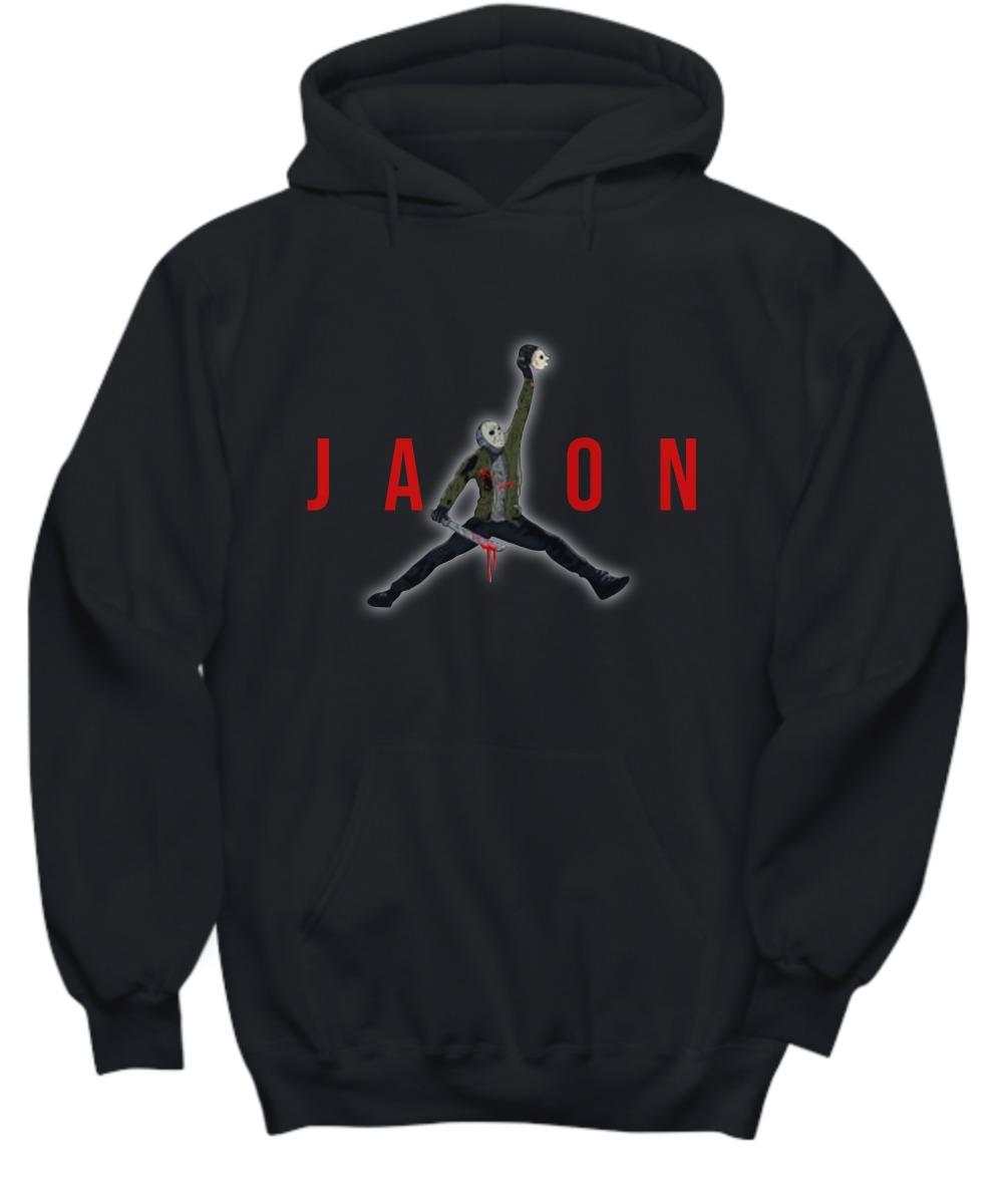 Jason Voheer Jordan jump shirt and hoodie