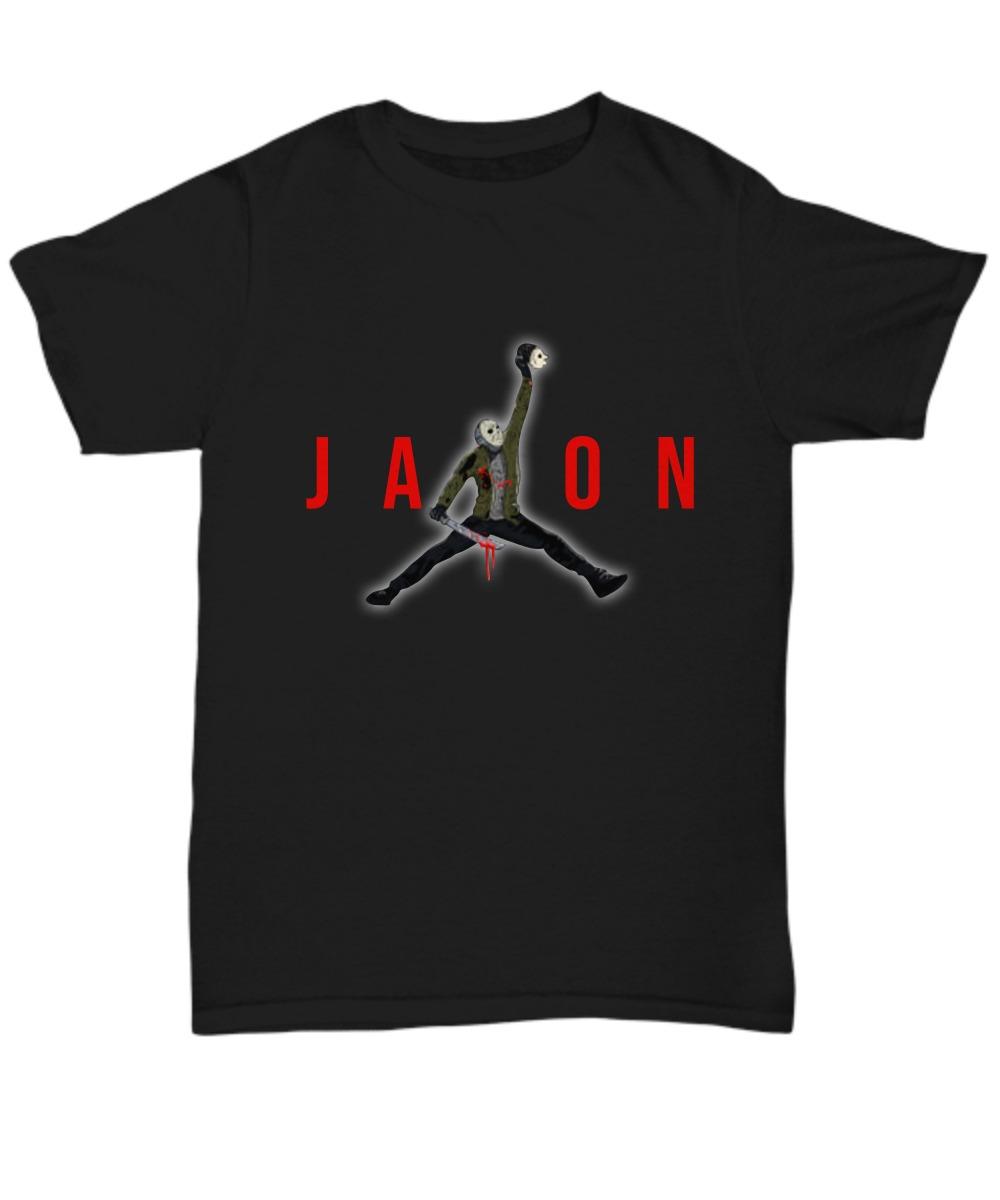 Jason Voheer Jordan jump shirt