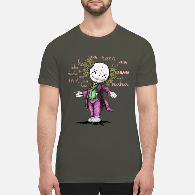 Joker Kaws premium men's shirt