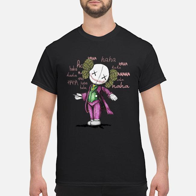 Joker Kaws shirt