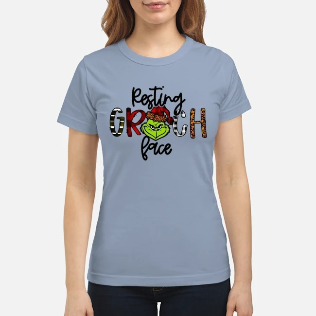 Resting Grinch face classic shirt