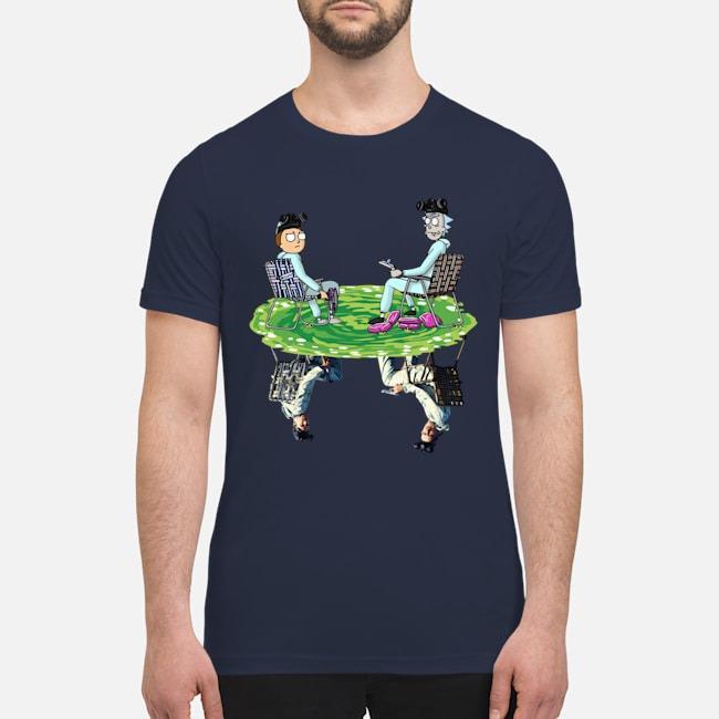 Rick and Morty Aaron Paul Breaking Bad premium men's shirt