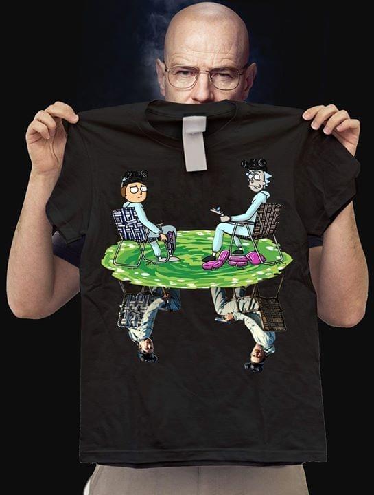 Rick and Morty Aaron Paul Breaking Bad shirt
