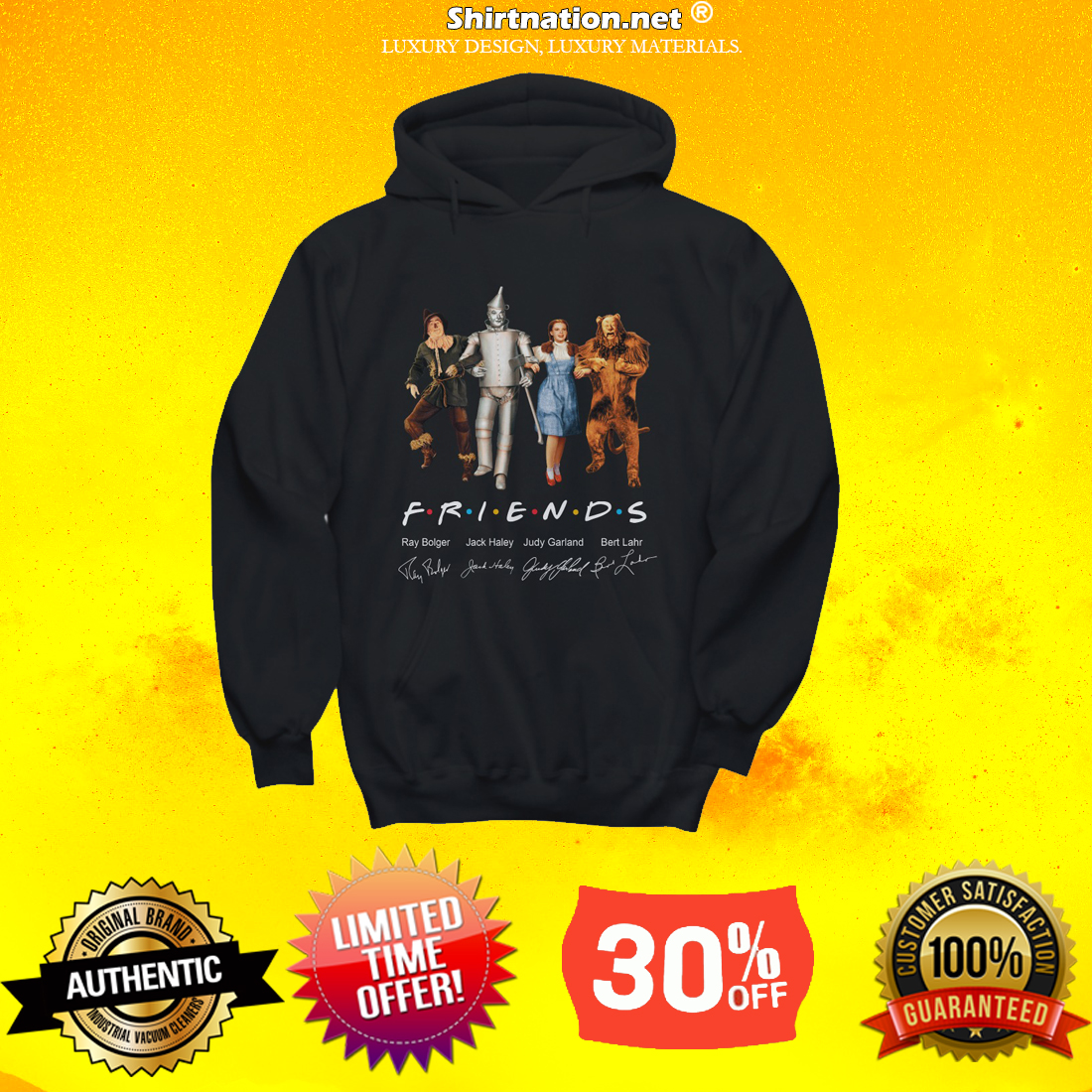 The wizard of Oz friends TV shirt and hoodie