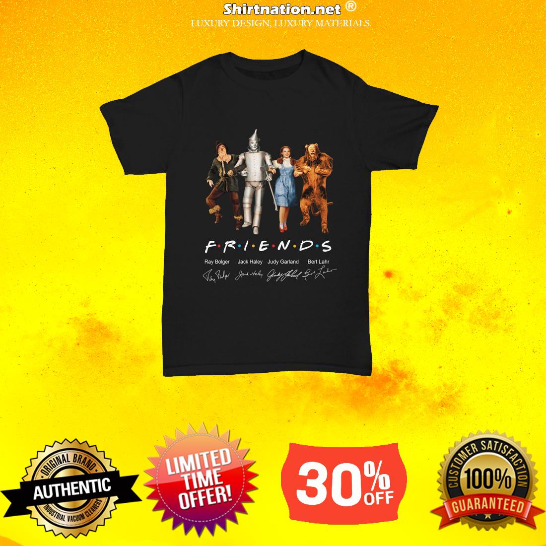 The wizard of Oz friends TV shirt
