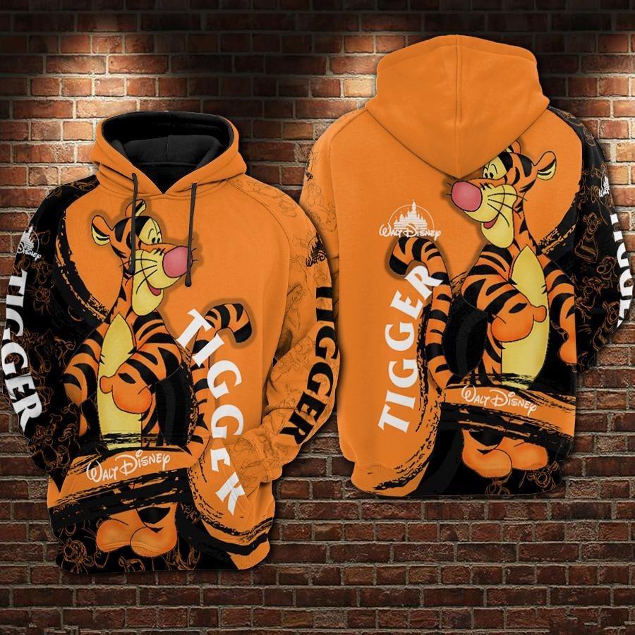 Walt Disney Tiger 3d full print hoodie