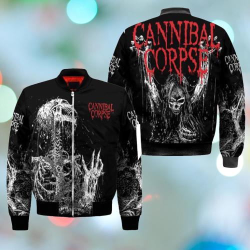 Cannibal corpse Skull 3d hoodie