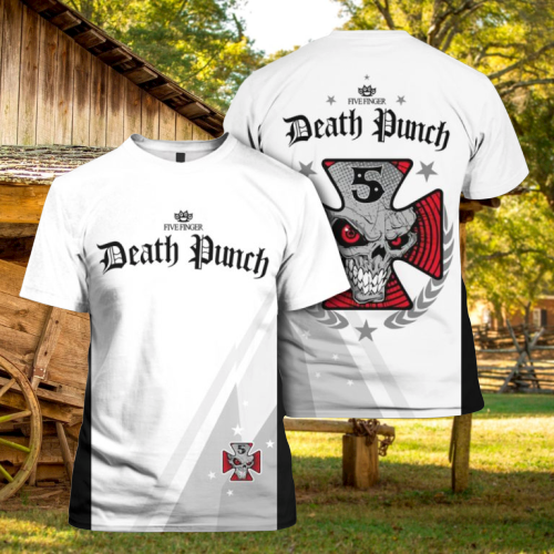 Five Finger Death Punch 3d hoodie and shirt