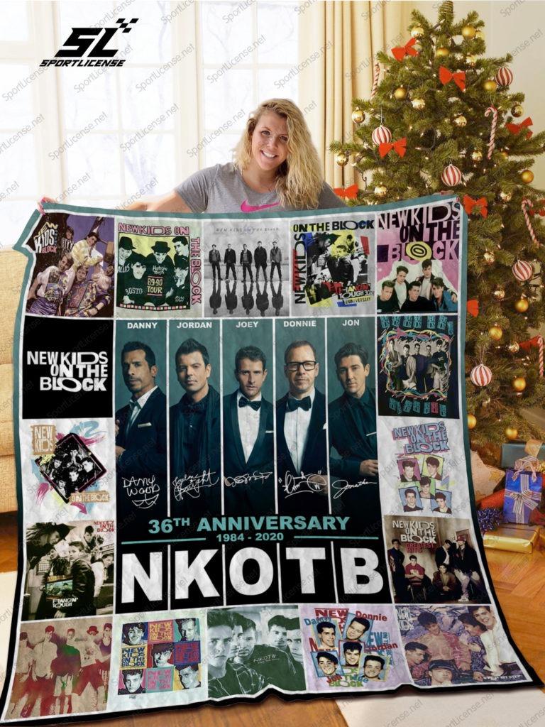 NKOB New kid on the block 36th anniversary quilt