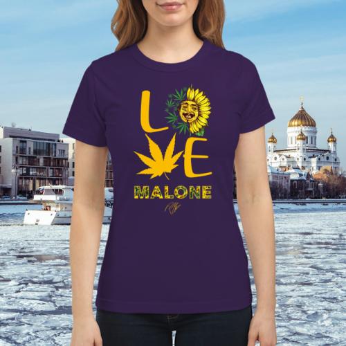 Post Malone Bangs: Post Malone Love Weed Shirt • Shirtnation