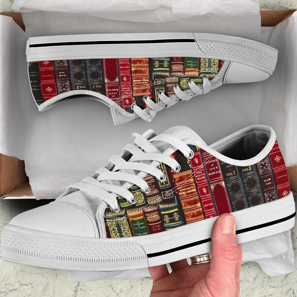 Spine Book low top cool shoes