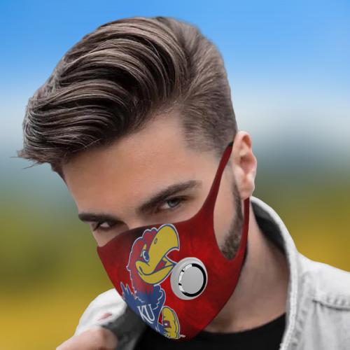 Kansas Jayhawks Face Mask