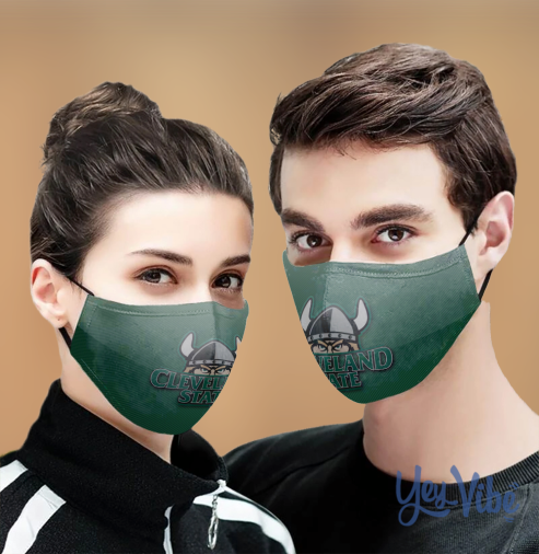 Cleveland state vikings Cloth Face Mask