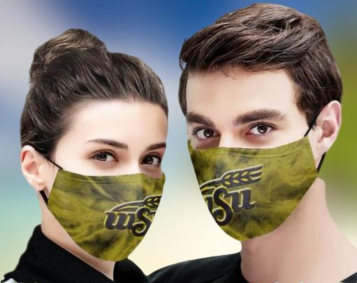 Wichita State face mask