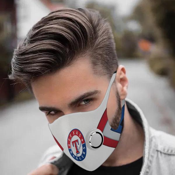 Texas rangers face mask