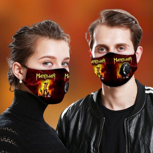 Manowar face mask