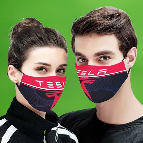 Tesla face mask