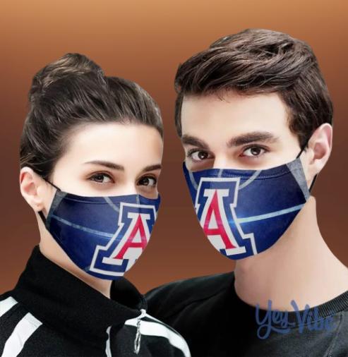 Uofa Basketball Cloth Face Mask