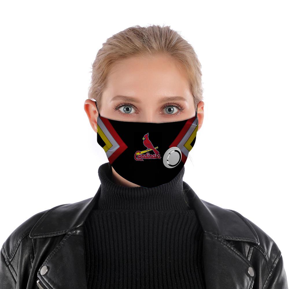 Saint louis cardinals face mask