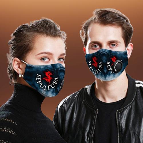 Sepultura face mask