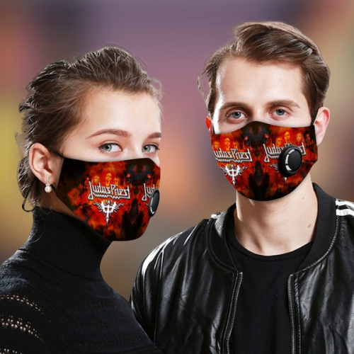 Judas Priest face mask