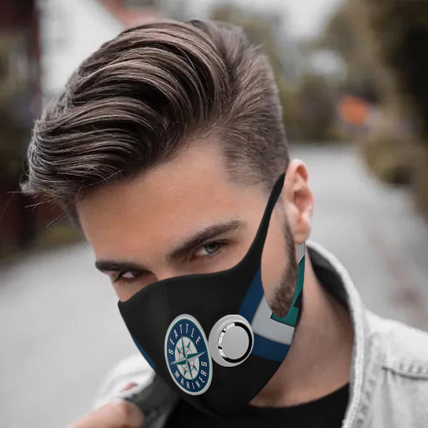 Seatle mariners face mask