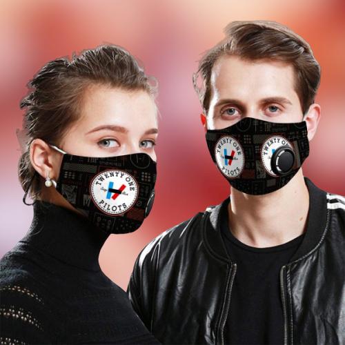 Twenty One Pilots face mask