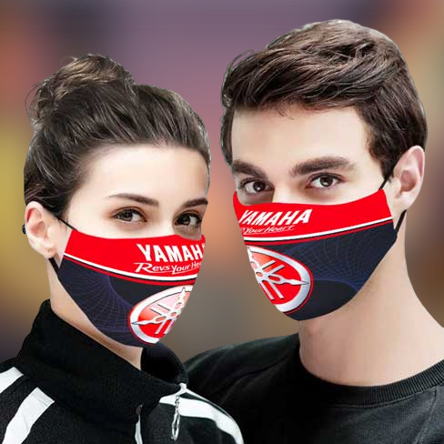 Yamaha Revs your Heart face mask