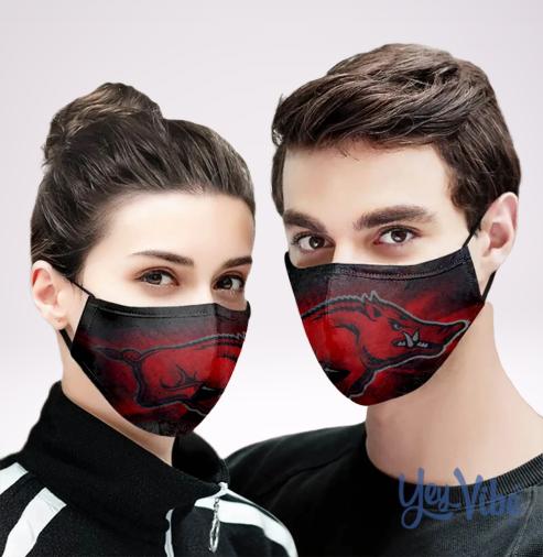 Razorback Stadium face mask