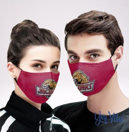 IUPUI Jaguars face mask