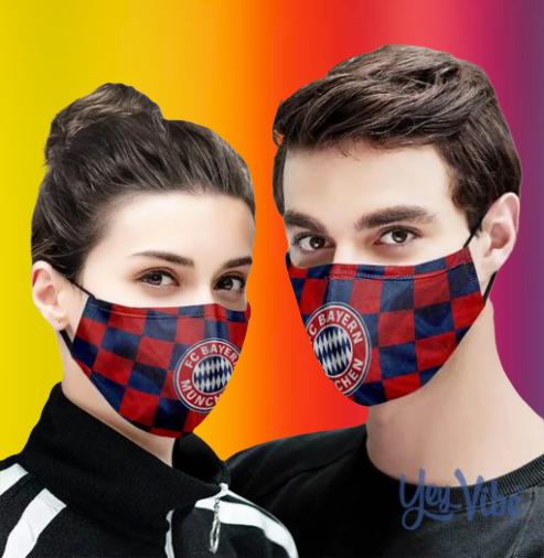 FC Bayern Munich face mask