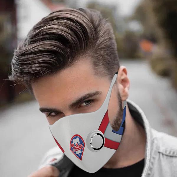 Philadelphia phillies face mask