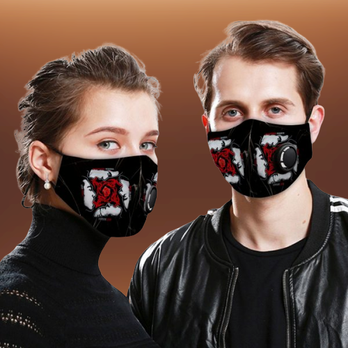 Red Hot Chili Peppers face mask
