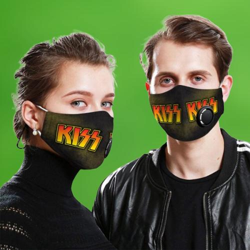 KISS band face mask