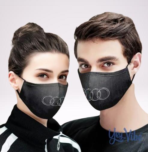 Audi Logo Cloth Face Mask