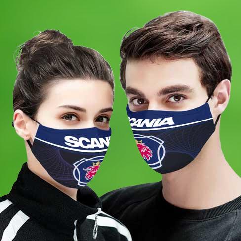 Scania face mask