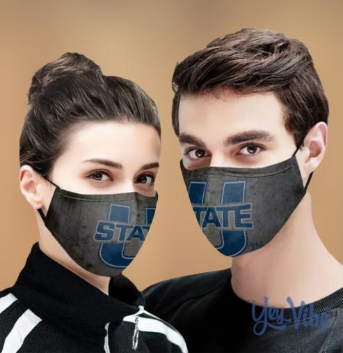 USU State Cloth Face Mask