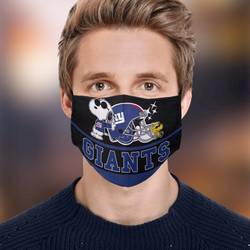 Snoopy New York Giants Face Mask