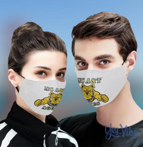 North Carolina A&T Aggies Cloth Face Mask
