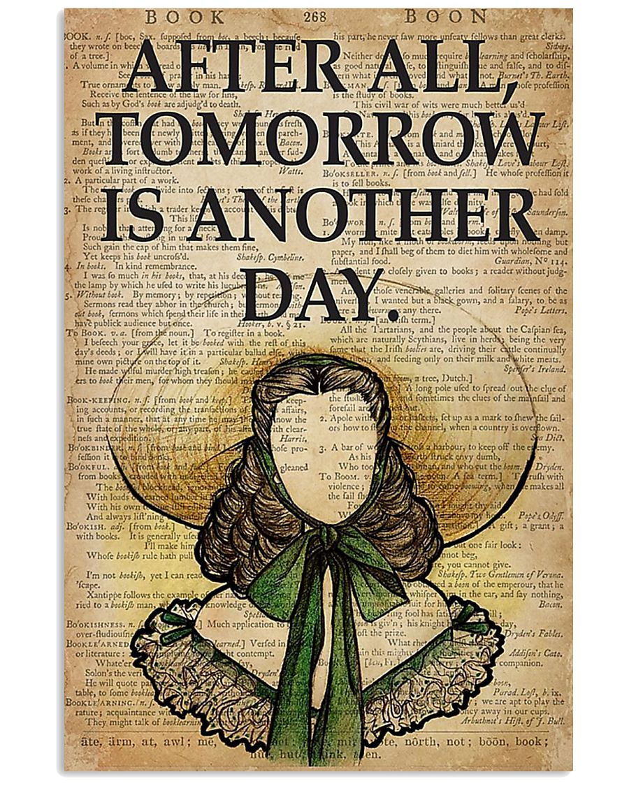 Book After all tomorrow is another day poster